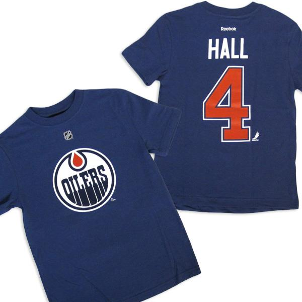 new product f27f6 b5e07 Tee - Edmonton Oilers - Taylor Hall - H1204-L