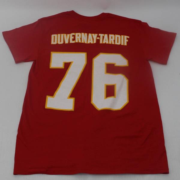 new styles dcbcb 7be77 Tee - Kansas City Chiefs - Laurent Duvernay-Tardif - MJ1056 ...