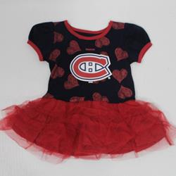 "Montreal Canadiens ""Love to Dance"" Tutu for baby"