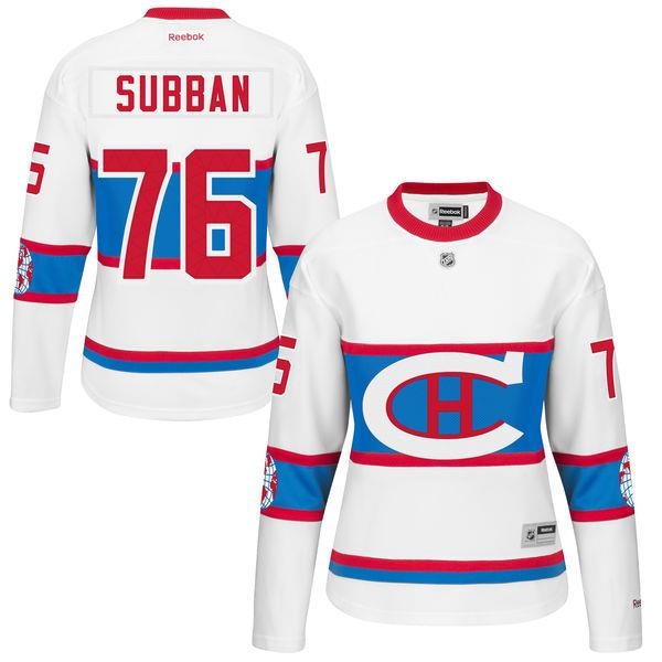 Jersey - Montreal Canadiens - P.K. Subban - J6116WCPS-L a8039122a