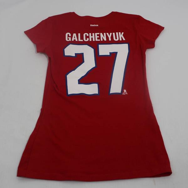 new style 79742 78083 T-Shirt - Montreal Canadiens - Alex Galchenyuk - R2050W-16AGS