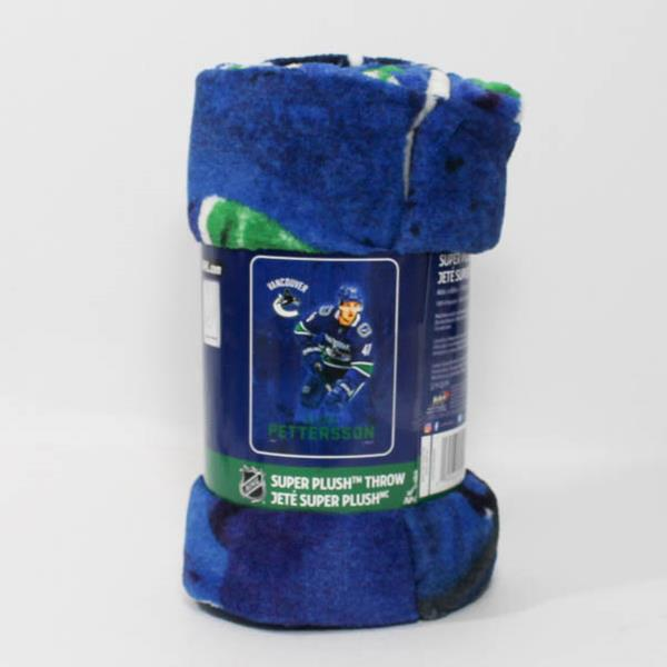 new arrival 8ebaa d680f Blanket - Vancouver Canucks - Elias Pettersson - Y3901M-29EP