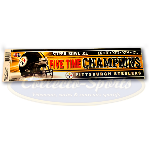 Bumper Magnet Pittsburgh City of Champs