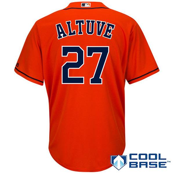 #27 Jose Altuve Baseball Jersey NEW HOUSTON ASTROS