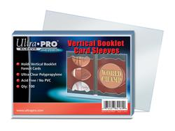 Vertical Booklet Sleeves (100)