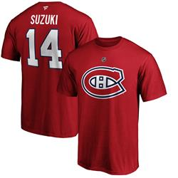 T-Shirt Canadiens de Montréal  - Nick Suzuki (#14)